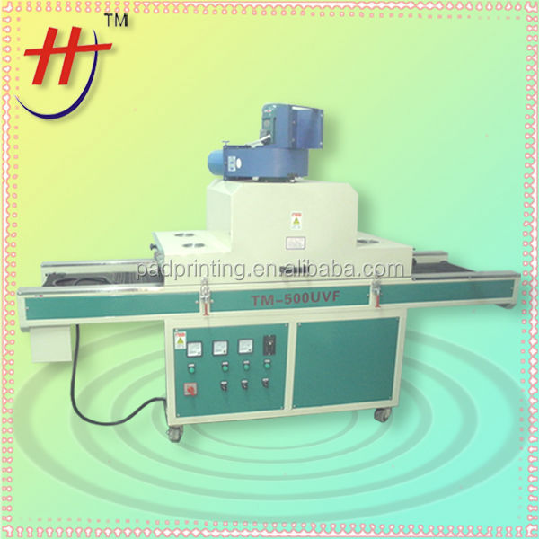 hot saling conveyer belt UV -600 uv curing machine
