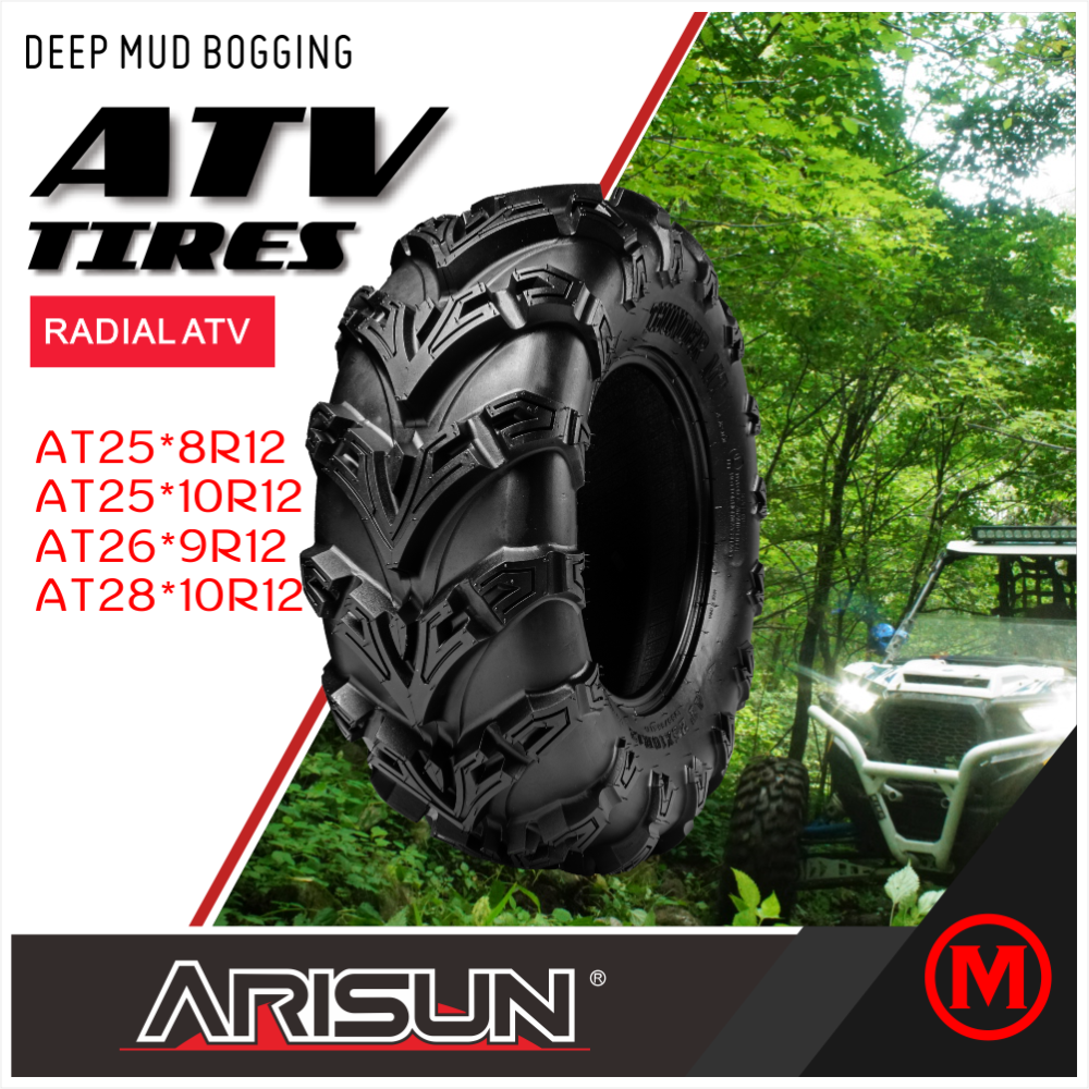 ARISUN BRAND ATV TIRES MUD BOGGING ATV TYRES made in china tires