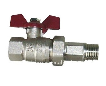 durable biogas valve 1/2