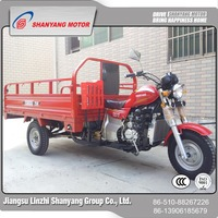 low price gas powered adult tricycle 150cc