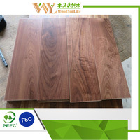 "BELLAWOOD 3/4"" x 5"" Natural American Walnut Prefinished Solid Hardwood Flooring"