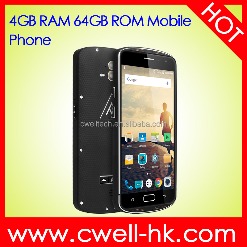 New arrival 4GB RAM/64GB ROM 5.5 Inch FHD AGM X1 Octa Core IP68 Waterproof Rugged 4g China Smartphone