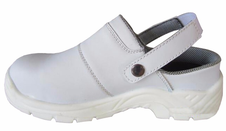 Microfiber leather composite toe chef safety shoes