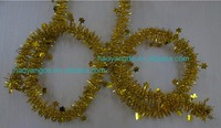 New Style~!! Christmas Decorative Shiny Tinsel Garland Multicolor for choice
