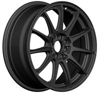 Black Car alloy wheels 17 inch forged black aftermarket aluminum wheels (ZW-P626)