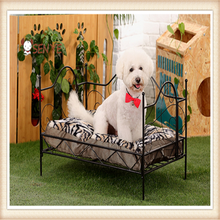 High Quatity Pet Furniture Products Luxury Dog Iron Beds