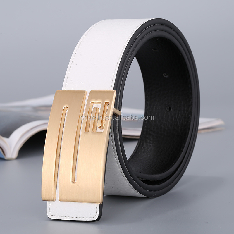 Men's Leather Belt Fashion Luxury Top Brands Designers Belts For Men