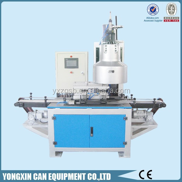 automatic 1-5L metal can seamer/tin can making machine
