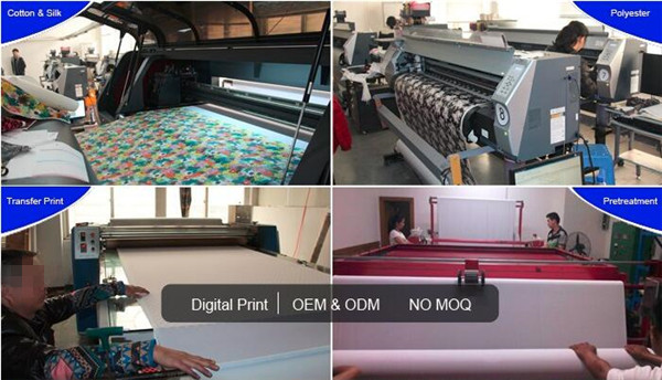 100% cotton printed fabric for home textile