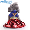 Popular New Style Dog Christmas Dress Lovely Hot Pet Clothes