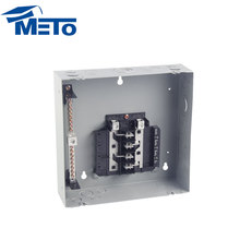 Cheap ansi standard power mcb panel box outdoor electric distribution board economy 6way load center