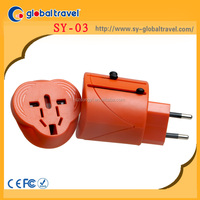 3 in 1 Floor Socket Electrical Travel Adapter