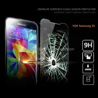 High Quality and Factory Price - 9H premium tempered glass screen protector wholesale for Samsung Galaxy S5