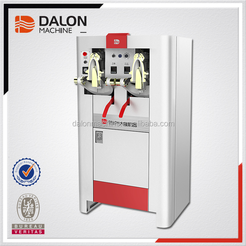 Dalong F3 two stations shoe vamp shaping machine shoe upper reforming machine leather shoe making machines