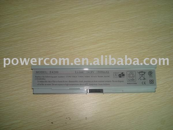 For laptops LATITUDE E4200