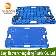 Euro Lightweight Plastic Pallet With Wheels