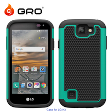 Football Silicone PC Armor Case For LG K3,Phone Case Cover For LG K3