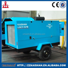 Kaishan Air Compressor Driven by Diesel Power LGCY-12/10
