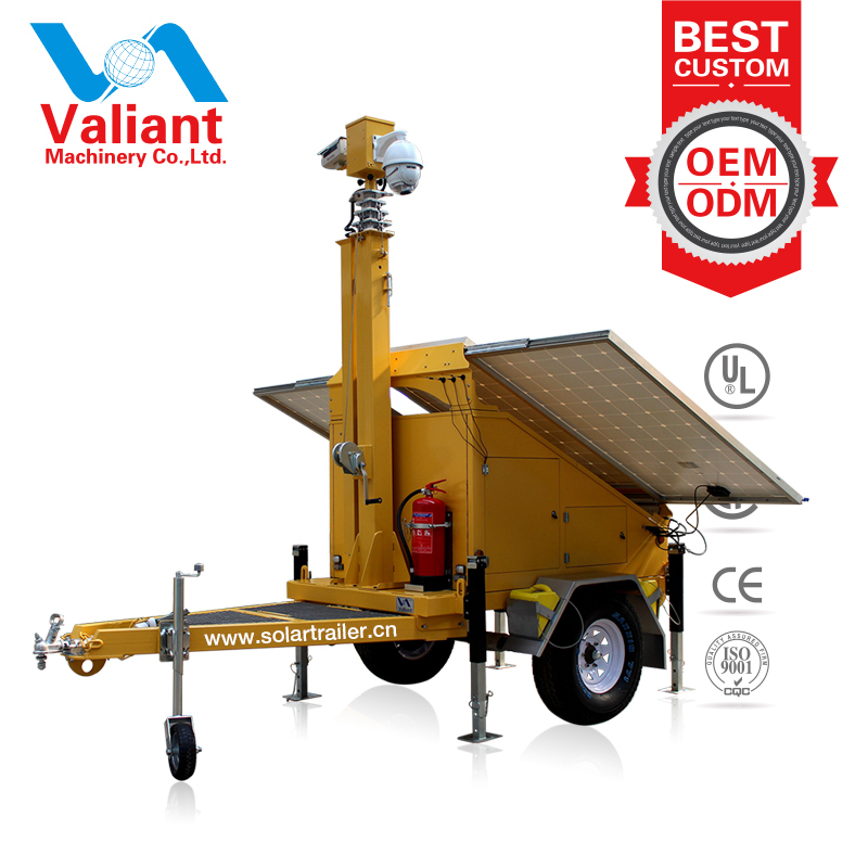 High Quality Australia Standard Solar power trailer