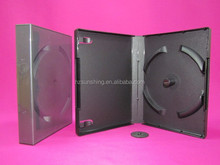 plastic case multi discs package stackable dvd storage