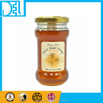 Natural and Organic Israel Kosher Original Ella Hills Pure Citrus Honey