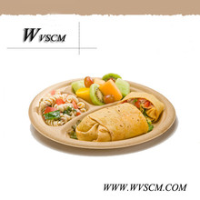 "modern restaurant 10"" disposable biodegradable partition dishes"