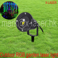 outdoor mini RGB Christmas garden laser with RF remote for landscape indoor decoration lights