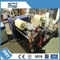 SCM -200 adhesive tape mini rewinder/doctor adhesive tape small rewinding machine (FURIMACH)