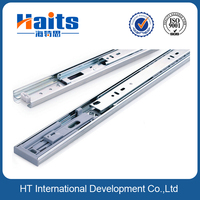 45mm 3 fold 45kg loaded 1.0*1.0*1.2mm rail, cabinet kitchen slide