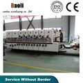 high speed corrugated box packaging printer slotter machine