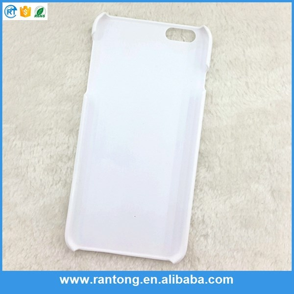Newest product originality 3d film sublimation blank case for htc 816 for promotion