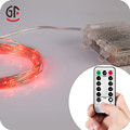 New GiftsPromotional Waterproof Remote Control Mini LED Starry Copper Wire LED String Lights