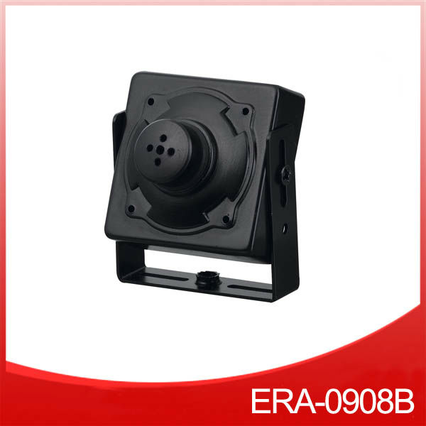 "1/3"" Sony CCD 420tvl Square Housing Pinhole Button Lens IR Mini Hidden Camera"