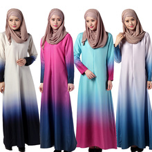 2017 newest dubai fancy kaftan abaya Ladies Wholesale Maxi Muslim Dress