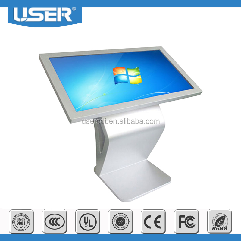"Beautiful Design 42"" Touch PC Media advertising Touch Screen PC Hot selling"