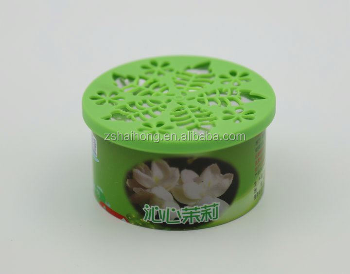Jasmine air freshener gel/hotel bathroom air freshener/mini spray air freshener alibaba china