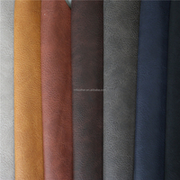 Used leather sofa brand hot sale pu leather raw material for shoes and bags