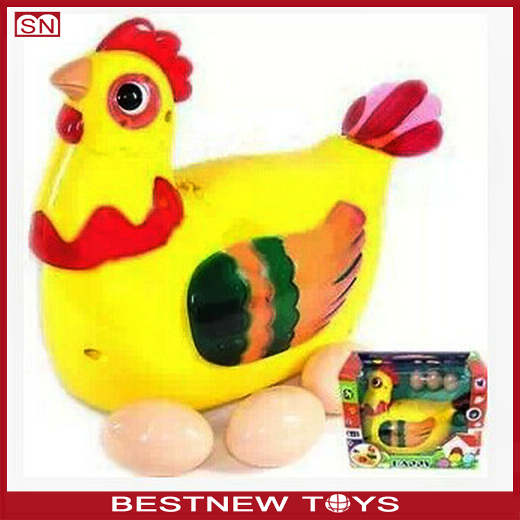 Electronic Toy Chicken Lays Eggs Laying Hen Toy With Light