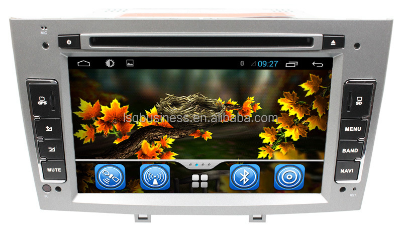 Pure android car dvd for peugeot 308/car gps navigation Peugeot 308 408/android car dvd player with gps wifi 3g for peugeot 408