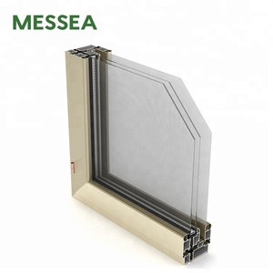 Office Glass Aluminium Outopen Casement Door