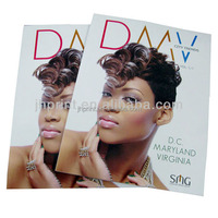 Popular fashion printing cosmetic catalogue/brochure design