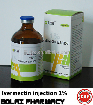 Bolai Liquid Ivermectin Injection 1% Animal Injection