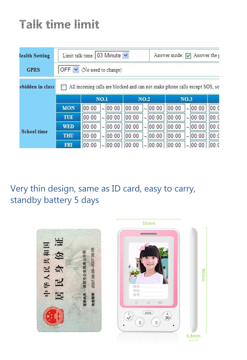 New arrival Original Ultra Thin Mini Card Phone Student Pocket Personality Children Phone Cell