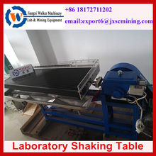 lab shaker table shaking table for Gravity Mining Testing