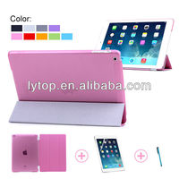 For iPad Air Samrt Cover + Clear Back Case