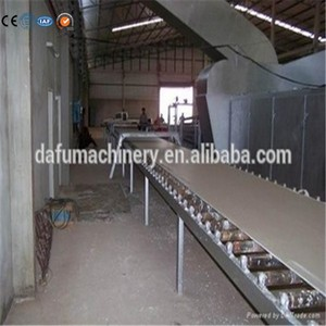 hot sale automatic gypsum board making machine/plasterboard manufacture production line for sale