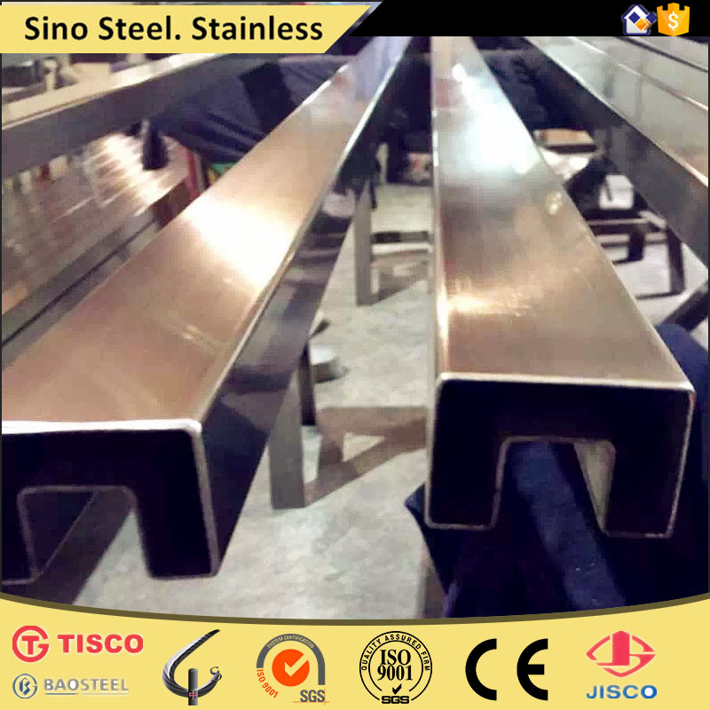 schedule 40 sus304 tp stainless steel pipe specifications for handrail