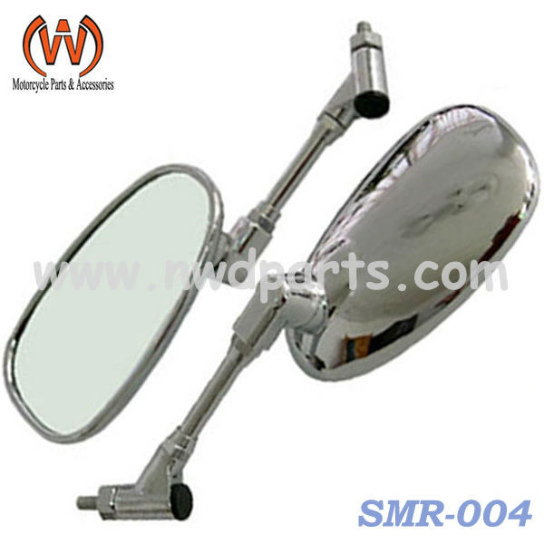 Scooter Chrome Rear View Mirror for GY6 Models
