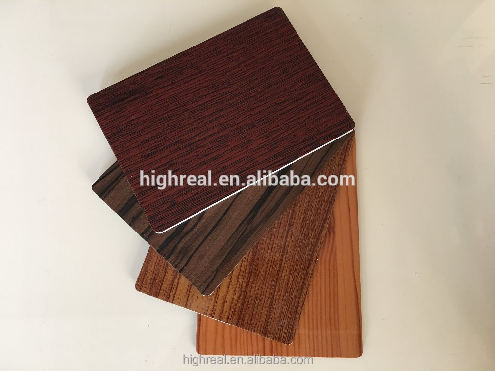Professional acm corrugated sheet roof building material aluminium cladding with high quality