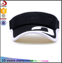 2016 Wholesale Solid Sports Blank Visor